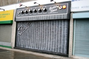 Guitar Store – Best shop front, ever