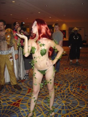 Better Shot of Poison Ivy Cosplay
