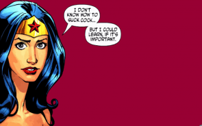 NSFW – Wonder Woman Wallpaper