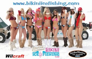 Exoticaswimwear ice fishing team