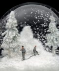 Mayhem and Chaos in Snow Globes