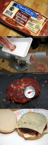 REAL Bacon Burger
