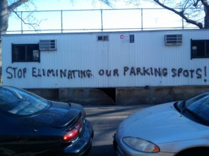 Stop Eliminating Our Parking Spots!