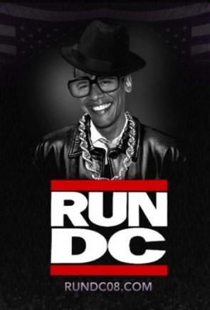 Obama plus RUN-DMC equals…