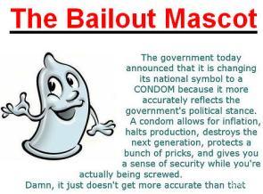 Bailout Mascot!