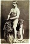 Gentleman Riding Ironing Board