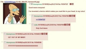 Farnsworth on 4chan