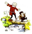 (John) Calvin and (Thomas) Hobbes