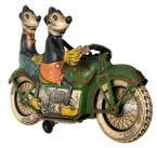 Mickey & Minnies motorcycle