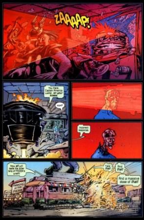 MODOK versus the Hero Diner