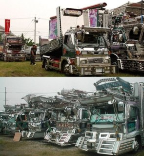 MANLIEST trucks in all of Japan