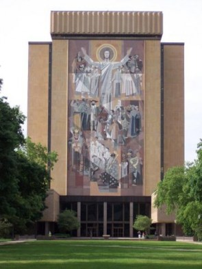 Touchdown Jesus @ Notre Dame University