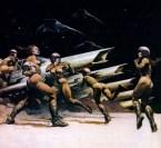 Battlestar Galactica – TOS concept art by Frazetta