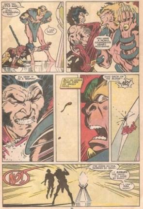 Wolverine Healing Factor