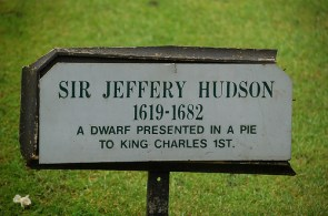 Sir Jeffrey Hudson, Pie