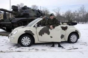 Convertible Camo Beetle