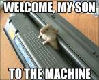 Welcome to the machine…
