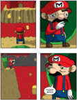 Mario questions his purpose or Red Plumber Bitching