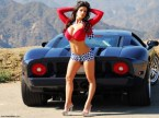 Pretty cars and beautiful women