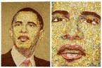 Cereal Mosaic – President Barack Obama