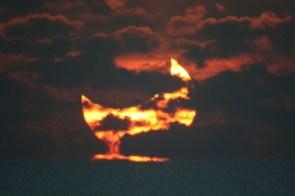 Eclipsed Sunrise