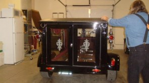 THE HARLEY HEARSE