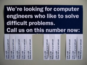 Computer Engineers Wanted