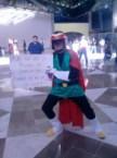 Saiyaman cosplay