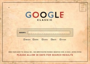 Google Classic: When The World Moved a Little Slower