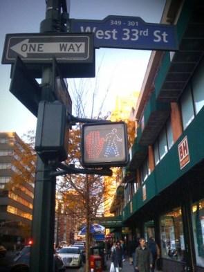 existential crosswalk in NY
