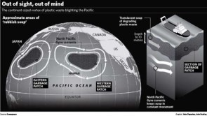 The Great Garbage Patch, East and West