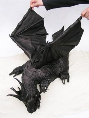 Dragon Leather Bag