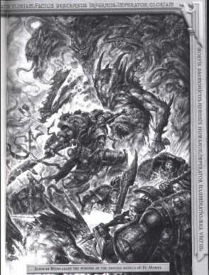 Grey Knights vs. Daemons