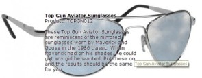 Top Gun Aviators (don't work)