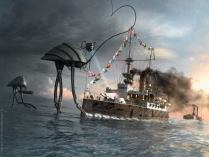 Last charge of the HMS Thunderchild