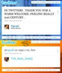 Oprah`s First Twitter Account