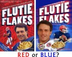 RED or BLUE Flutie Flakes