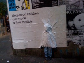 Neglected kids are made to feel invisible