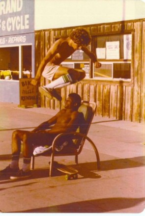 Old School Skateboarding