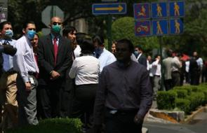 Earthquake and Swine Flu in Mexico City