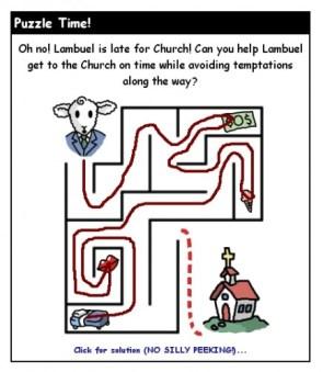 Lambuel's maze