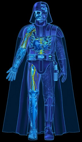 Blue Print of Darth Vaders Armor