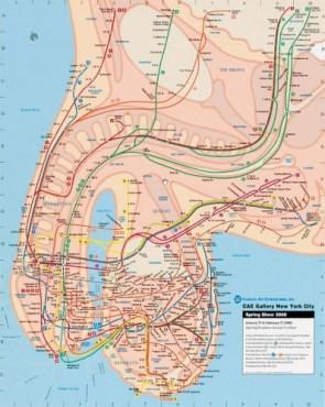 NSFW – New York subway map
