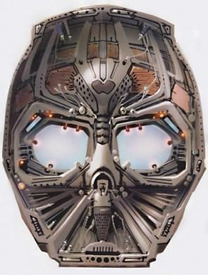 Inside Darth Vaders mask