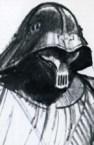 Concept art of Darth Vader.