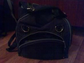 angry bagpack is angry