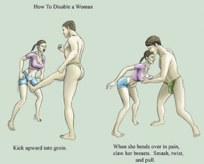 How to disable a woman
