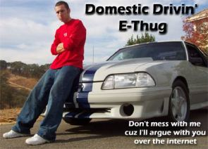 Domestic Drivin' E-Thug