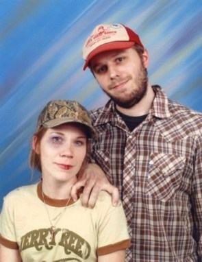 Happy Redneck Couple