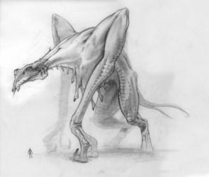cloverfield monster sketch
